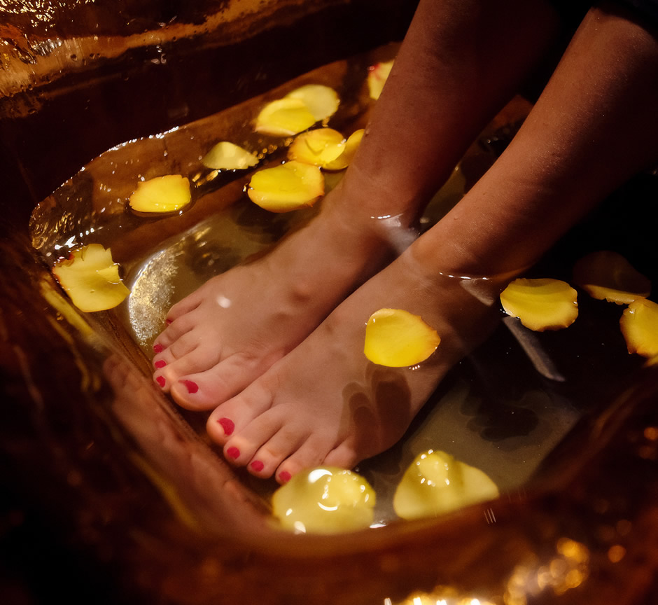 Pedicure at Serenity