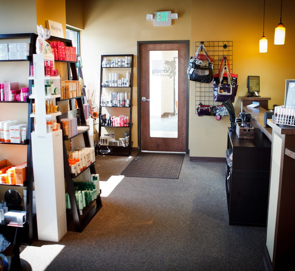 The front of our beautiful salon!
